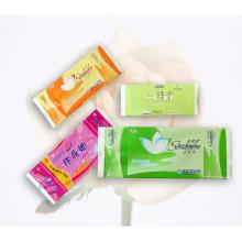 Saco plástico flexível do empacotamento de alimento, malote plástico do alimento do selo médio