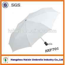 3 parapluies personnalisés pliant de poignée en plastique automatique de Hangzhou