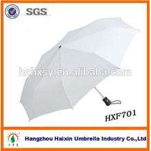 3 dobrável Auto punho plástico personalizado guarda-chuvas de Hangzhou
