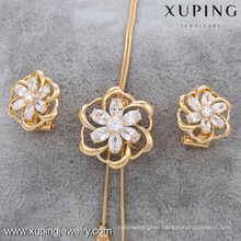63411-Xuping New Design Woman 2 Pieces Jewelry Set For Imitation Wholesale