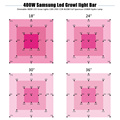 Led Grow Light Full Spectrum Super Bright Bar400W