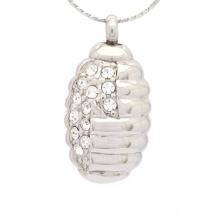Специальный кристалл ожерелье для пепла,серебряные ювелирные изделия кремации пепел кулон