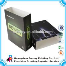 Impresión de manga de caja de cartón mate personalizada