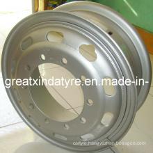 Truck Tube Steel Wheel Rim 7.50-20 for 1000r20 Truck Tyre