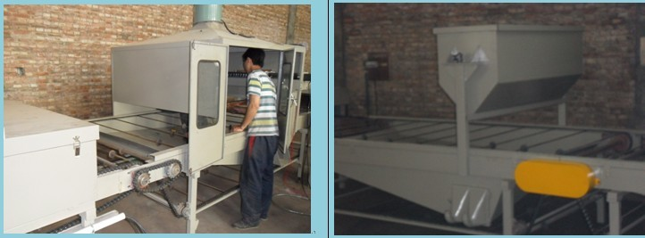 Stone coated production line