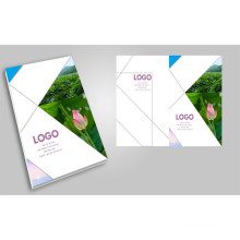 Full Colors Professional Custom Brochure Printing Magazine Printing