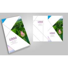 Cópias personalizadas Impressão profissional de folhetos Impressão impressa de revista