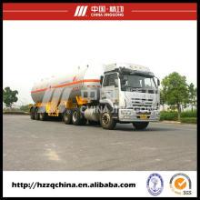 LPG semi-remolque de entregar Gas GLP en venta