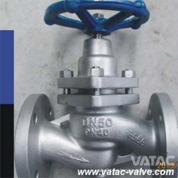 API Cast Iron / Wcb / CF8 / CF8m / Ss304 / Ss316 válvula de émbolo con extremos bridados Fabricante