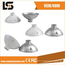 Accessoires de moulage sous pression en alliage pour pièces de couverture de connexion CCTV de sécurité