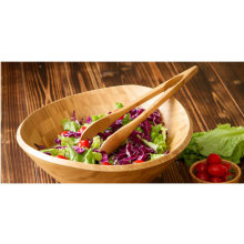 Bamboo Kitchen Cook Food Salad Serve Utensil Bamboo Tong