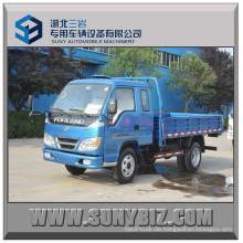 Foton Forland 115HP 6ton 4 * 2 Dump Truck 4X2 Dumper Mini Kipper LKW