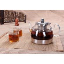 Cuerpo de vidrio de acero inoxidable Bottom Tea Kettle Coffee Pot