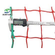 Factory Customize Red/Green PE/PP/Plastic Fall Arrest/Cargo/Safety Catch/Dividing Net in Playground for Baseball/Volleyball/Tennis/Football/Hockey/Badminton