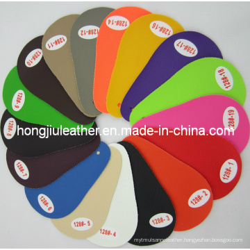 Supply Colorful PVC Artificial Car Leather (128#)