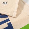 Tablier de coton naturel de style japonais moitié-tablier de couleur beige