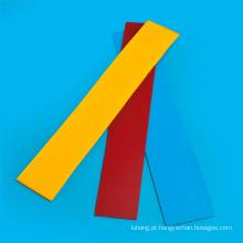 Folha do plutônio da espessura do vermelho 1mm para o pára-choque