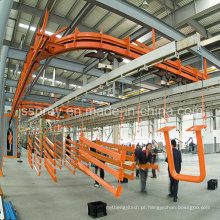 Linha de revestimento do pó do pulverizador para industrial / ônibus