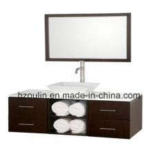 Modern Wooden Bathroom Furniture (BA-1143)