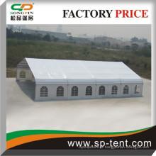 2015 Tente de nouveaux produits Tente de charpente courbe 18x20m avec toit en PVC blanc et flancs