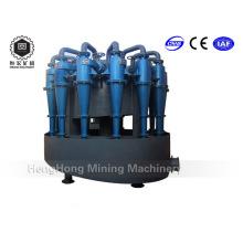 Séparateur de sable à hydrocyclone, conception d'hydrocyclone de bienfaisance pour le processus de séparation des minéraux