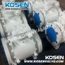 3 peças forjadas válvulas de esfera de alto desempenho