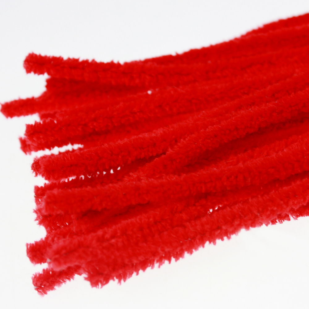 Red Hand Handwerk Chenille Stem für Kinder DIY