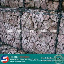 2014 China Hot Sale galvanized or pvc coated gabion mesh