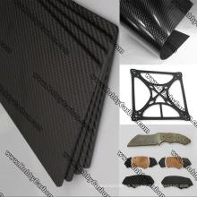 RC Drone Hobbby Parts Hoja de vidrio de carbono