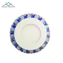 Современные украшения высокого качества кристалл модели светодиодные две цветные панели 3 + 3 Вт