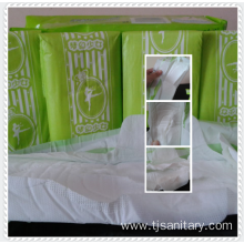 Bulk breathable cotton sanitary pads