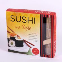 Коробка упаковки еды бумажная суши