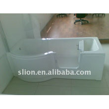 walk in tub shower for elderly and disable person