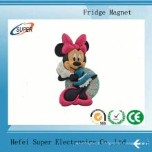 Aimant souple de réfrigérateur de la publicité de PVC pour la promotion