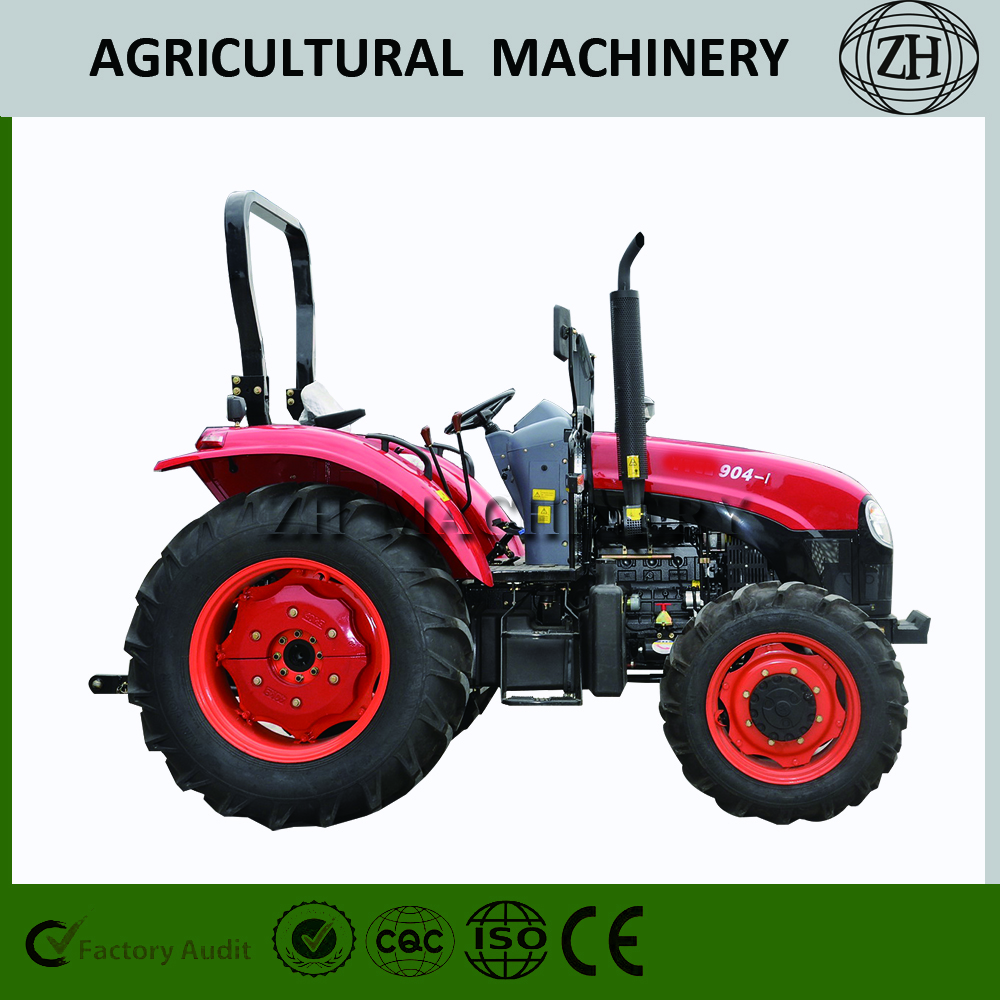 Tractor de granja 90HP Big Wheel