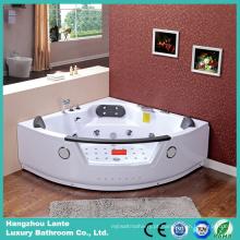 Banheira de massagem em canto com cachoeira americana (CDT-004)
