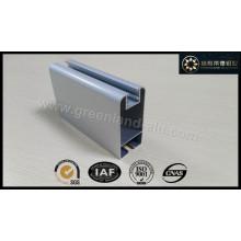 Алюминиевый профиль для раздвижной двери с электрофорезом Белый цвет