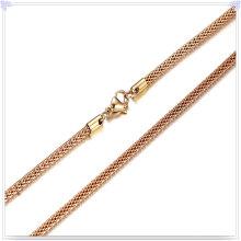 Collar de moda cadena de moda de joyería de acero inoxidable (sh046)