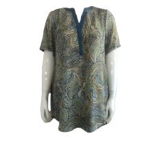 Camisa havaiana feminina personalizada