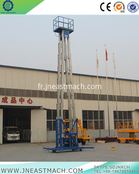 The Most Convenient Platform For Aluminum Alloy Lifting
