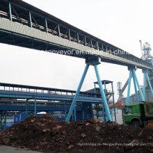 Schüttgut-Förderbandförderer / Stahlwerk-Fördermaschine