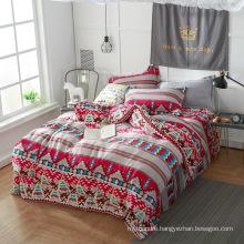 100 Polyester Hot Sale Super Soft Flannel Fleece Bedding Sets
