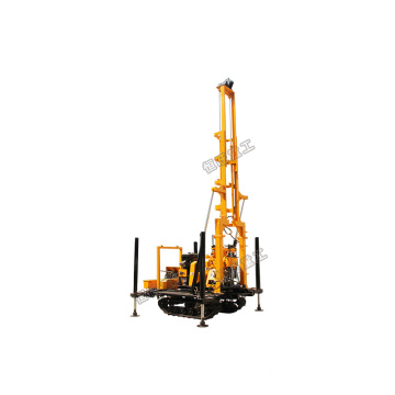 Crawler Mounted Rig Pengeboran Sumur Air 230 m