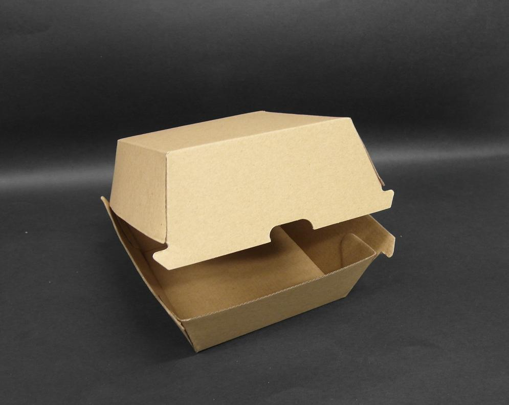Brown Board Burger Box 250s Ctn