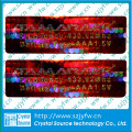 3d Custom Hologram Authenticity Sticker