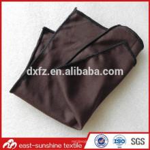 Персонализированный пользовательский логотип коричневые очки из микрофибры, очищающие коричневые ткани для чистки микрофибры