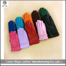 Großhandel Kinder Farbe Winter Warm Touchscreen Kinder Leder Handschuhe