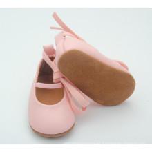 Zapatos suaves calientes vendedores calientes del bebé del cuero del bebé