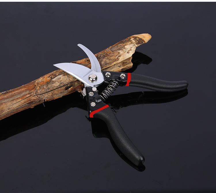 Профессиональные садовые инструменты Лезвие SK5 с черной ручкой Ножницы для обрезки веток Ножницы для обрезки Ножницы для обрезки