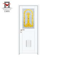 2018 glass design aluminum alloy door with cheapest price